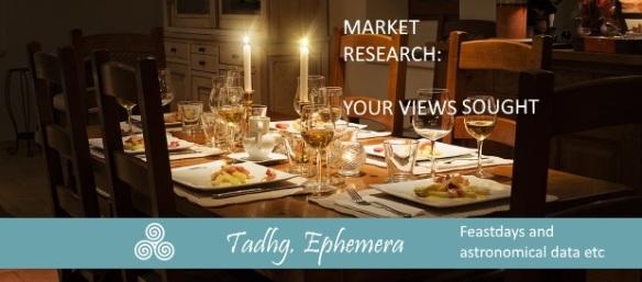 160905 views sought STANDARD EPHEMERA