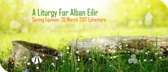 20170316 litrugy for alban eilir EPHEMERA