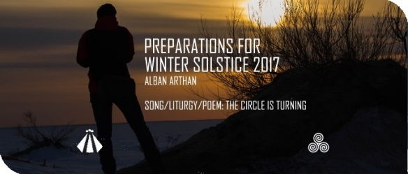 201711212 PREP FOR WINTER SOLSCTICE SONG THE CIRCLE IS TURNING