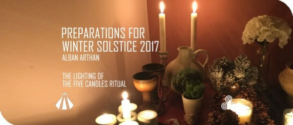 20171213 LIGHTING OF THE FIVE CANDLES RITUAL