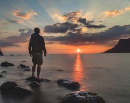 pixabay man sun 4544
