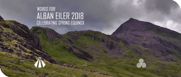 20180310 WORDS FOR ALBAN EILER 2018 CELEBRATING SPRING EQUINOX