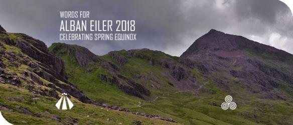 20180310 WORDS FOR ALBAN EILER 2018 CELEBRATING SPRING EQUINOX