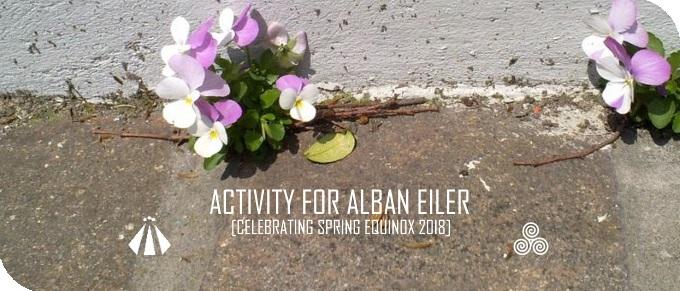 20180315 ACTIVITY FOR ALBAN EILER CELEBRATING SPRING EQUINOX