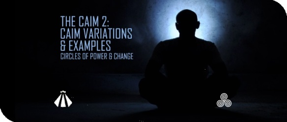 20180712 THE CAIM 2 CAIM VARIATIONS AND EXAMPLES