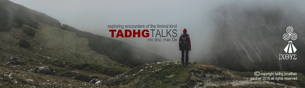 Tadhg Talks…