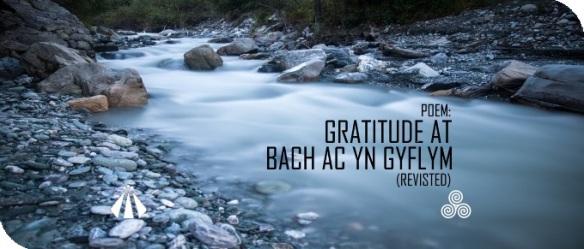 20190107 poem gratitude at bach ac yn gyflym
