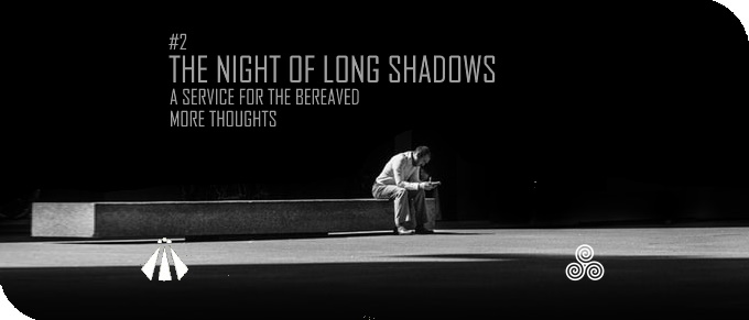 20191207 THE NIGHT OF LONG SHADOWS 2 MORE THOUGHTS